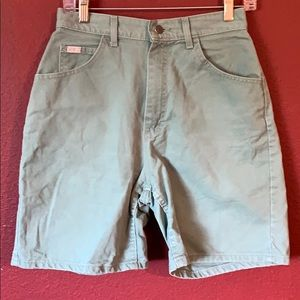 Vintage high waisted Lee Jean shorts